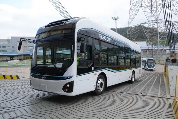 현대차, 수소전기차·수소전기버스 중동 시장 첫 수출