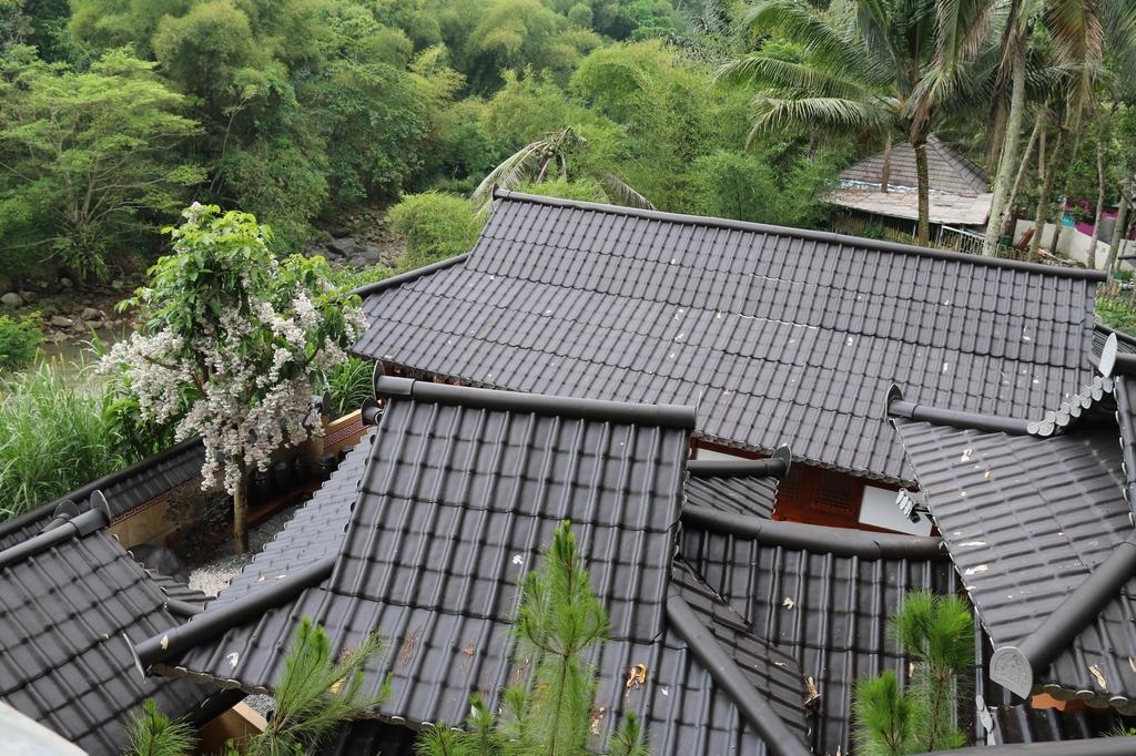 인도네시아 타식말라야군 말라야 파크 내 한옥마을