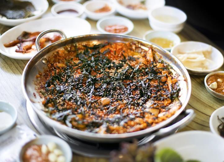 곰장어 볶음밥 [사진/성연재 기자]
