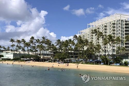 하와이 호놀룰루 해변