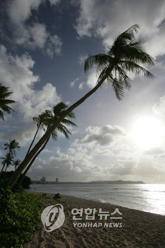 괌 해변.[연합뉴스 자료사진]