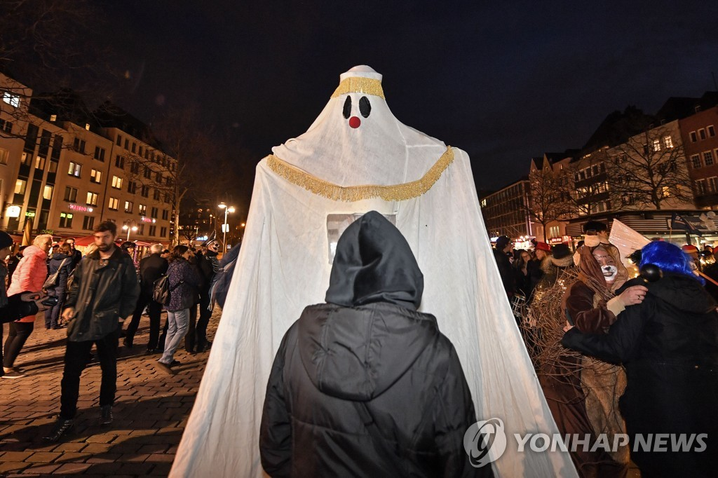Germany Carnival Ghost Parade
