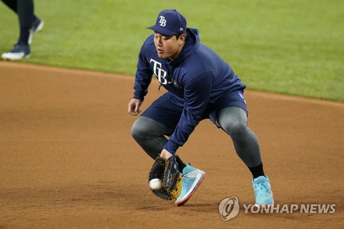 Rays' Choi Ji-man pulled for pinch hitter in World Series loss to Dodgers