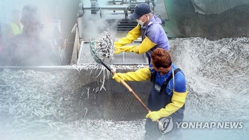 S. Korea to spend 30 bln won to support fishery industry