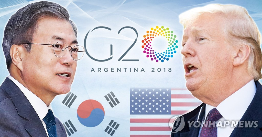 (LEAD) S. Korea-U.S. summit to be 'pull aside': report
