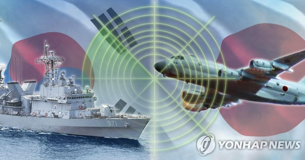 한국-일본 '레이더 갈등'(PG)