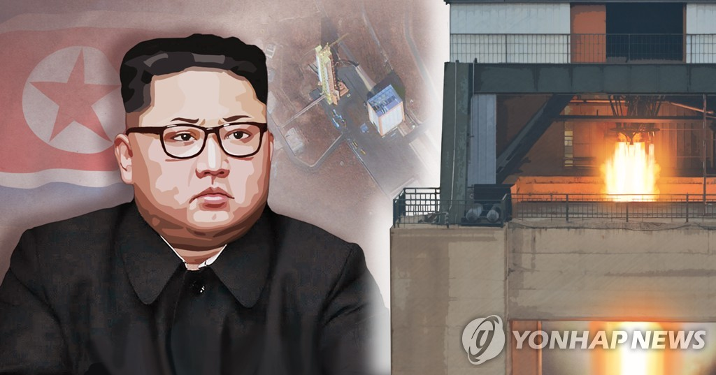N. Korea likely tested liquid-fuel engine for rockets: U.S. expert | Yonhap News Agency