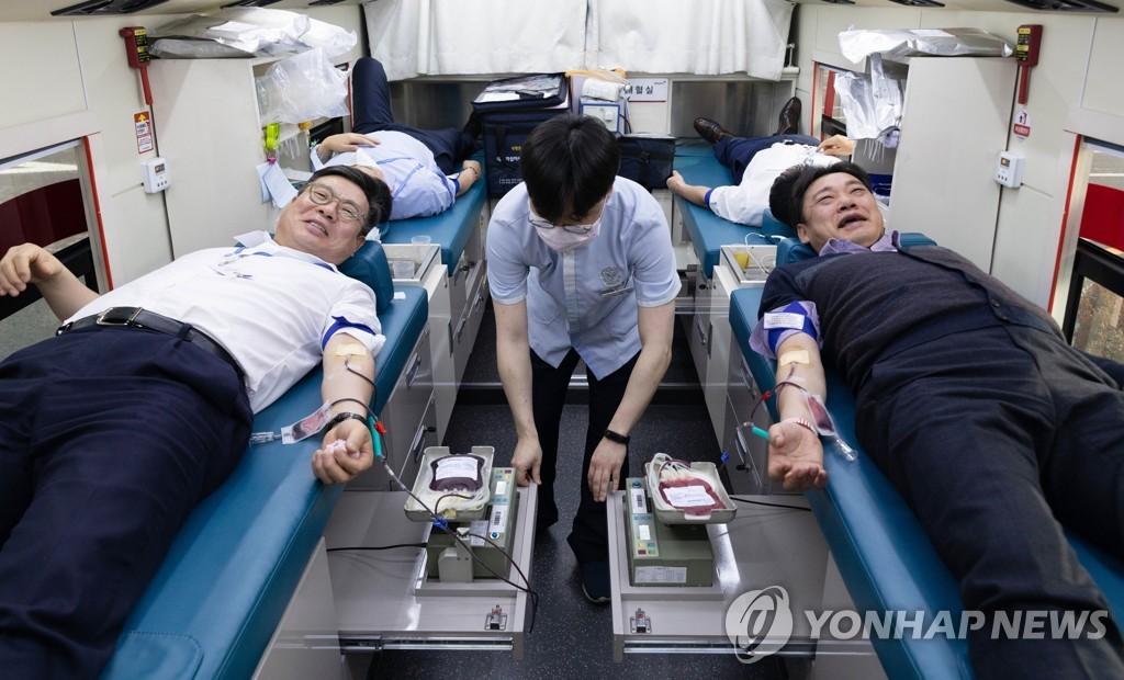 한국투자증권, 릴레이 헌혈 행사