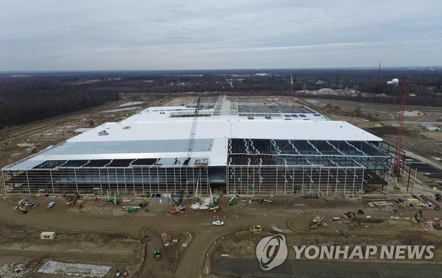 LG에너지솔루션 GM 합작법인1공장 (오하이오주 얼티엄셀즈)