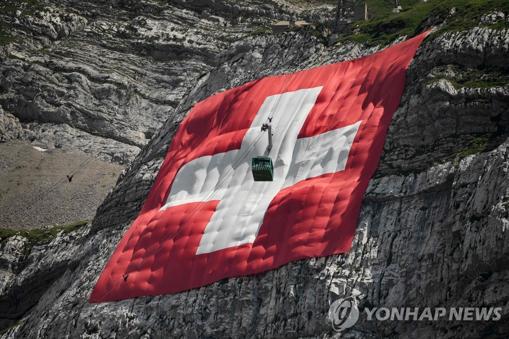 SWITZERLAND-MOUNTAINS-TOURISM-NATIONAL DAY