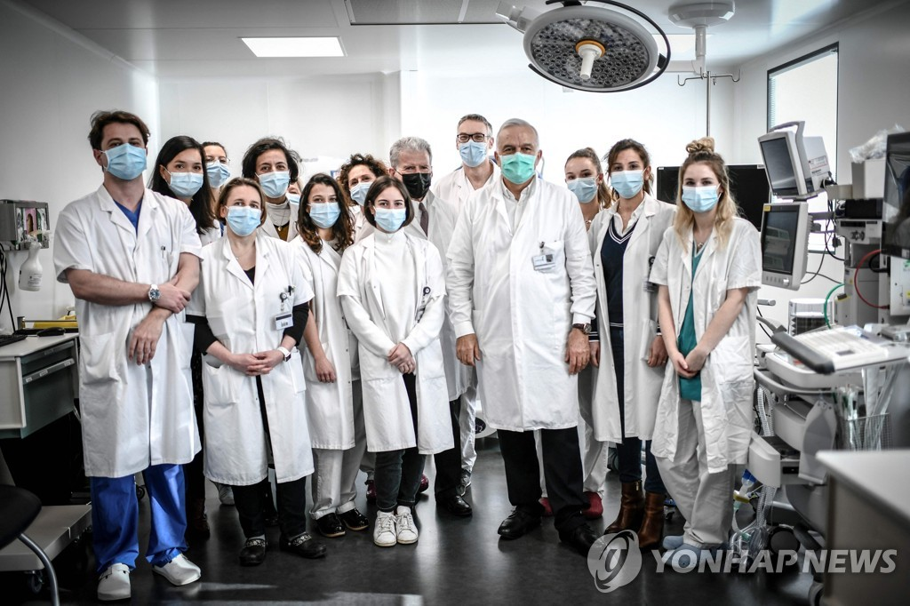 프랑스 포슈병원 산부인과팀