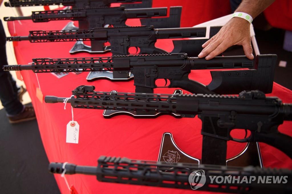 '총기난사의 단골흉물' AR-15
