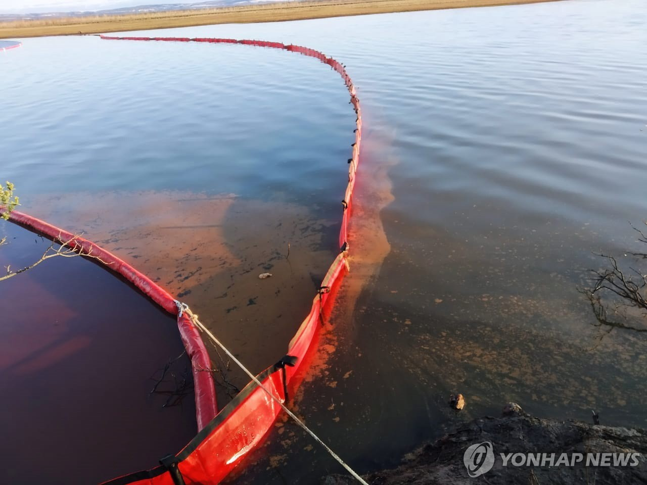 RUSSIA OIL PRODUCTS SPILL