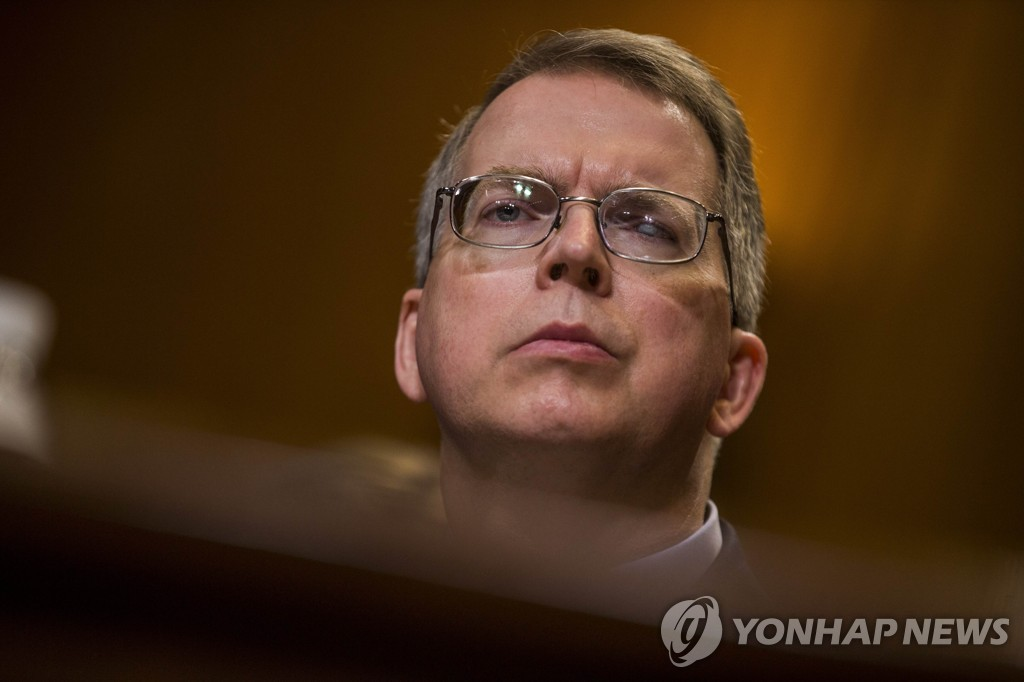 This AFP file photo shows U.S. Deputy Secretary of Defense David Norquist. (Yonhap)