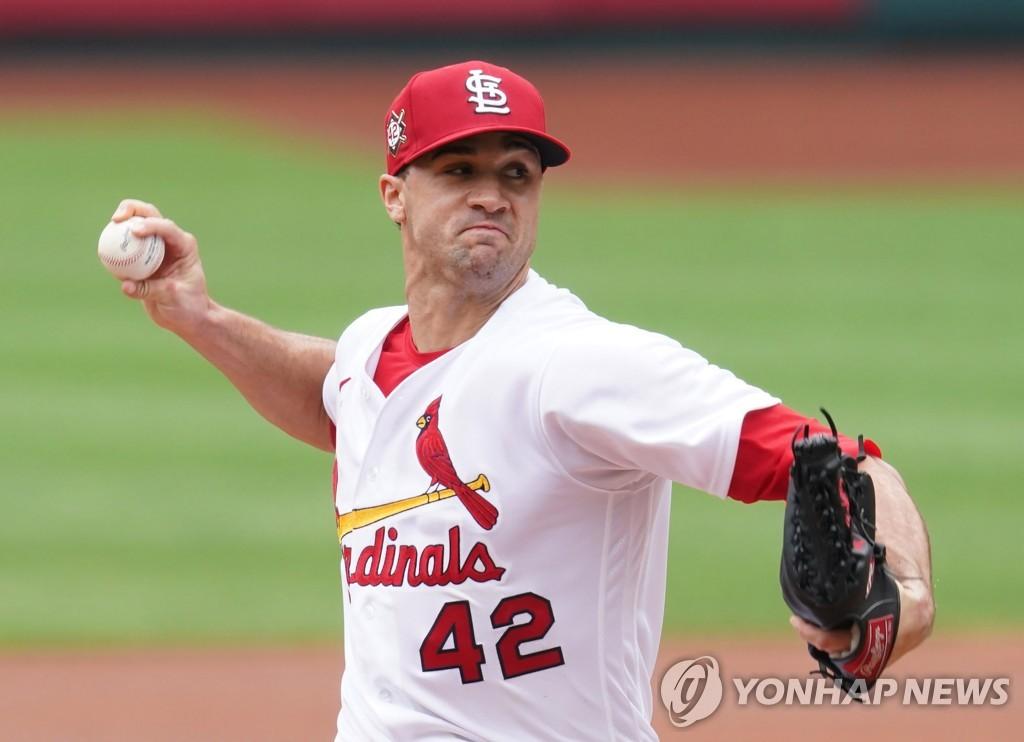 오른손 투수 Flaherty, 2 년 연속 MLB St. Louis 개막전 선정