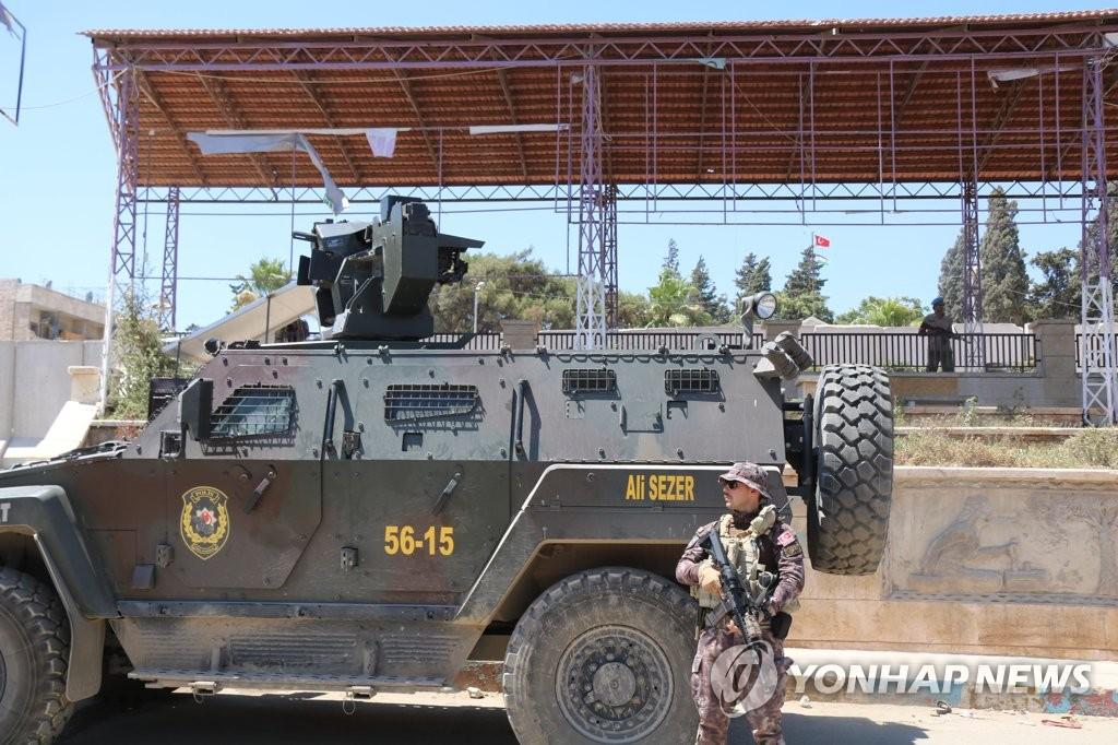 시리아 북서부 '쿠르드 도시' 아프린 장악한 터키 병력