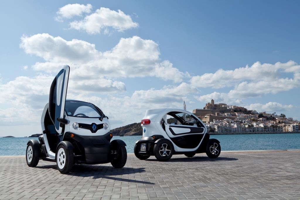 Renault's Twizy ultracompact electric car (Yonhap)