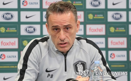 S. Korea's football style will not change against Australia: coach