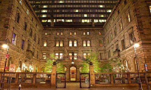 Lotte New York Palace picked as one of 20 best places for holidays