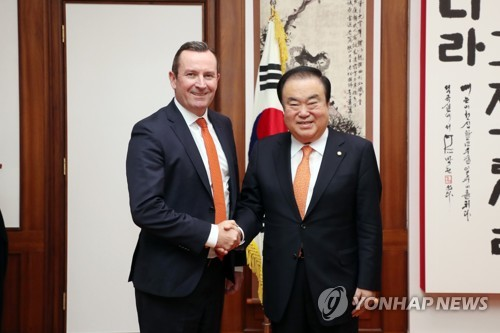 National Assembly speaker meets Western Australian leader