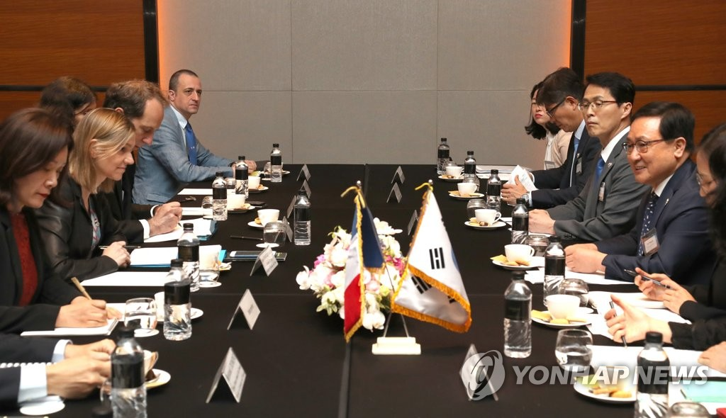 S. Korea, France agree to expand cooperation for space development