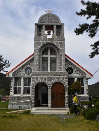 문화재 등록 예고된 신안 흑산성당