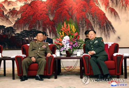 N. Korea-China military ties