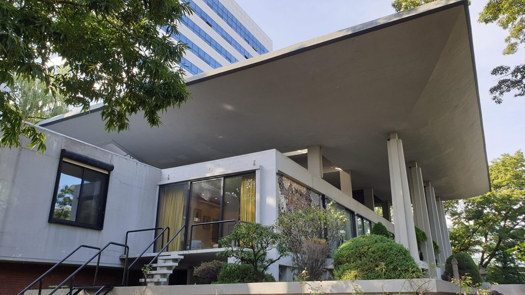 A photo of the French Embassy in Seoul on Sept. 19, 2019 (Yonhap)