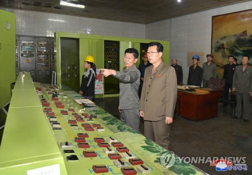 N.K. premier inspects power stations