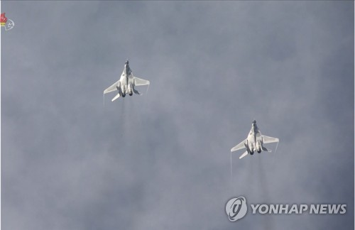 N. Korea's MiG-29 fighters