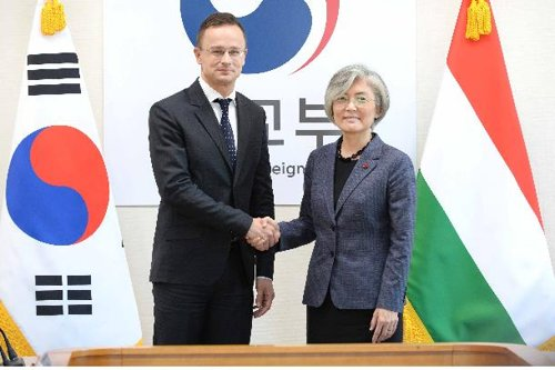 South Korea-Hungary talks
