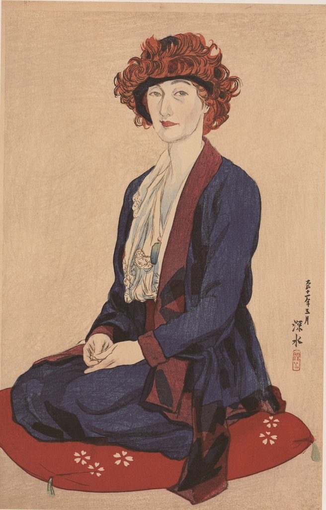 "This image, provided by With Book, shows a portrait of late Scottish artist Elizabeth Keith, co-author of the 1964 illustration book ""Old Korea: The Land of Morning Calm."" A supplemented Korean-language revision was published by With Book on June 10, 2020, in South Korea. (PHOTO NOT FOR SALE) (Yonhap)"