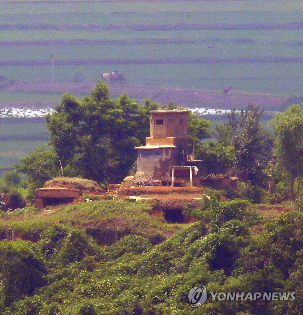 N. Korean sentry post