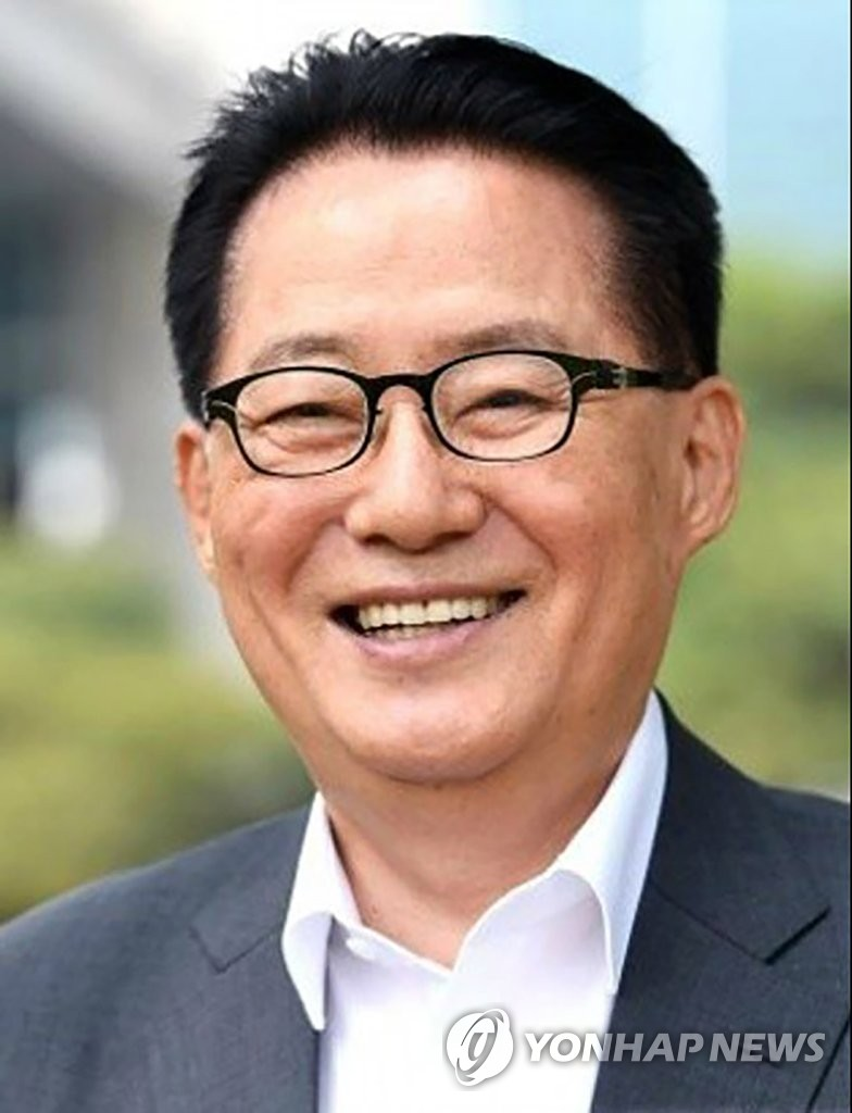 This file photo shows National Intelligence Service director-nominee Park Jie-won. (Yonhap)