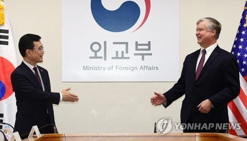 Vice FM meets U.S. point man for N. Korea CR