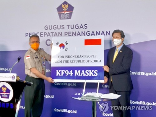 S. Korea supplies masks to Indonesia