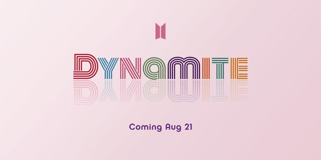 "A teaser image for BTS' upcoming single album ""Dynamite"" provided by Big Hit Entertainment (PHOTO NOT FOR SALE) (Yonhap)"