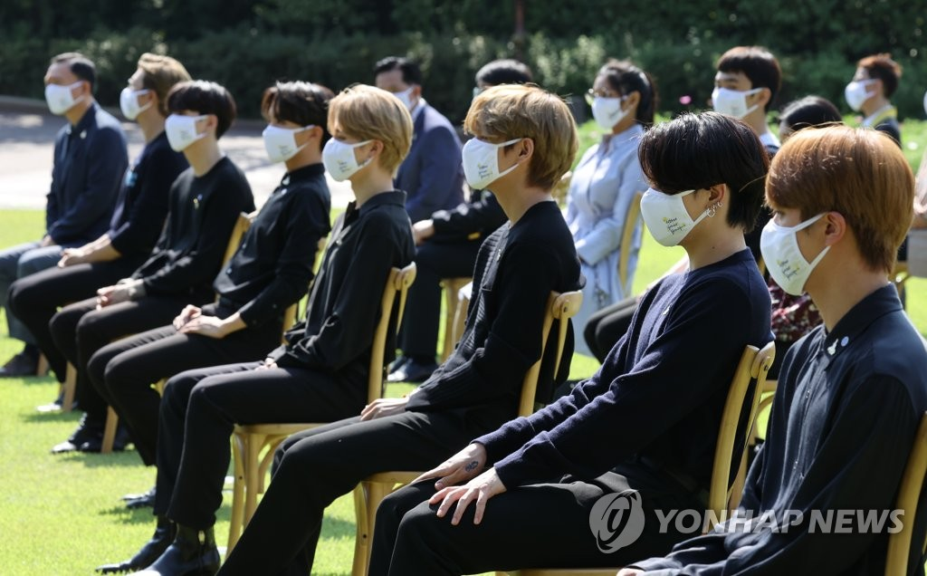 BTS at Youth Day event