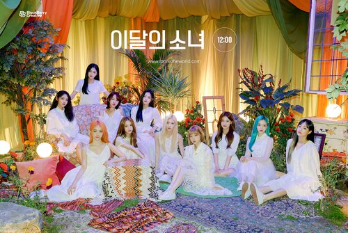 K-pop act LOONA makes radio chart history with 'Star'