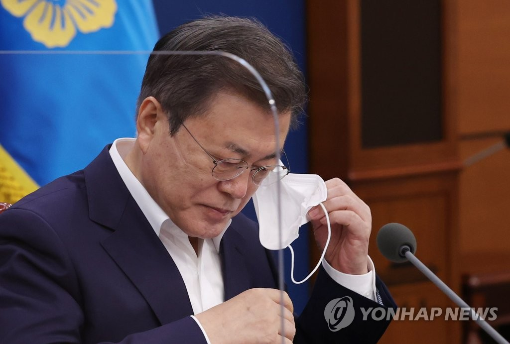 Moon's approval rating at all-time low of 33 pct: Realmeter