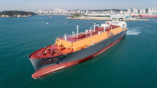 한국조선해양 LNG운반선
