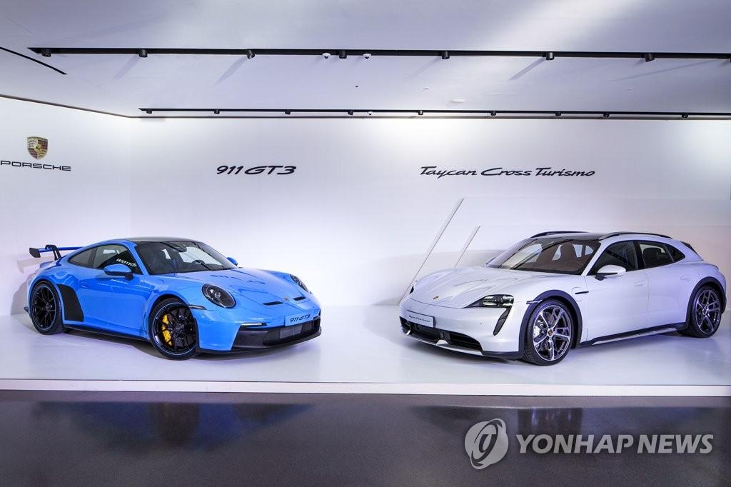 포르쉐, 타이칸 크로스 투리스모·911 GT3 국내 출시